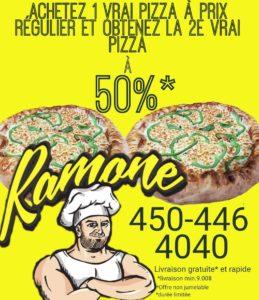 Pizza, livraison pizza, pizza st-hilaire,